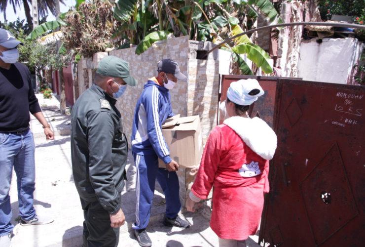 L'aide humanitaire à Casablanca