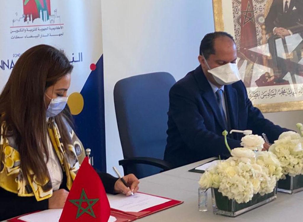 Convention de la fondation en faveur des enfants au Maroc