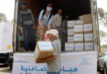 Photo opération d'action humanitaire 2