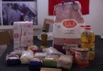 Photo action humanitaire au Maroc en faveur des familles pauvres