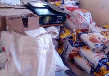 Photo action d'aide alimentaire au Maroc 1