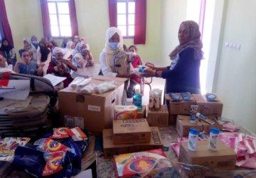 Photo action d'aide alimentaire au Maroc 2