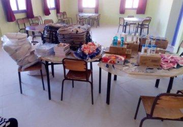 Photo de l'aide aux familles démunies