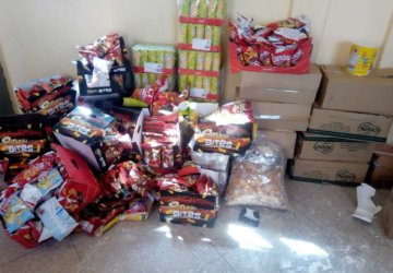 Photo d'aide humanitaire au Maroc 2