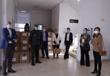 Photo crise sanitaire et opération de soutien au Maroc