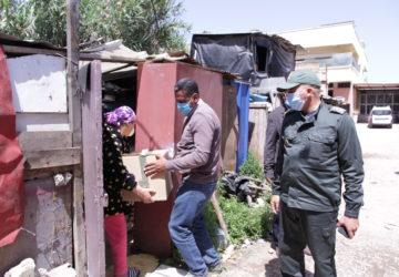 Photo distribution gratuite de nourriture aux pauvres