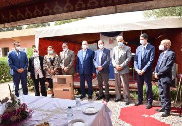 Photo de l'engagement de la fondation à Médiouna 1