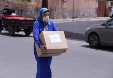 Photo exclusion sociale et pandémie mondiale
