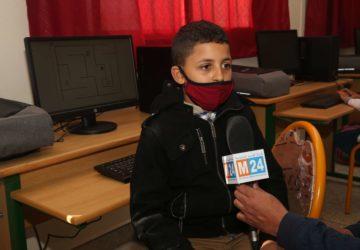 Photo du reportage à l'école